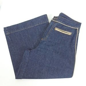 Bill Blass Jeans  high rise culottes size 6